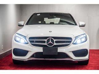2016 Mercedes-Benz C-Class C300 4MATIC **TOIT PANO+CAMÉRA+ENS AMG**