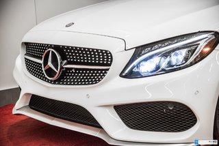 2016 Mercedes-Benz C-Class C450 4MATIC **CUIR DESIGNO+ VOLANT AMG**