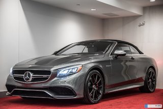 2017 Mercedes-Benz S-Class S63 AMG 4MATIC CABRIOLET