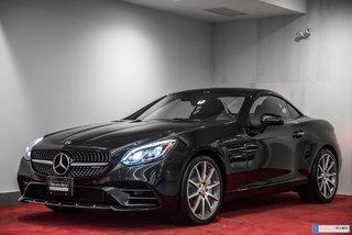 2018 Mercedes-Benz SLC **V6 BI-TURBO 362 HP**