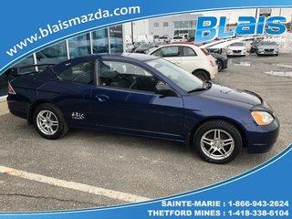2003 Honda Civic Coupé 2 portes, boîte manuelle - LX