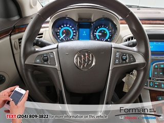 2010 Buick LaCrosse AWD Rmt Start Pwr Seat Clean Btooth Traction