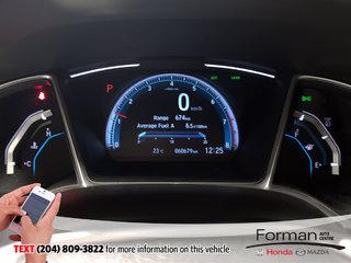 2017 Honda Civic Sedan EX Certified Extended Warranty