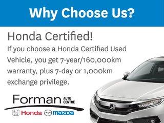 2015 Honda CR-V EX-L Rmt Start Htd Lthr Camera Certified