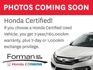 2016 Honda CR-V EX|Certified|Extended Warranty- Just arrived