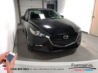 2018 Mazda Mazda3 GS Htd Wheel Htd Seats Blowout