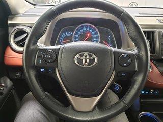 2015 Toyota RAV4 Limited Htd Lthr P.Tailgate Navi Low Km XM Camera