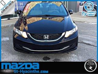2013 Honda Civic LX+SIEGE CHAUFFANT