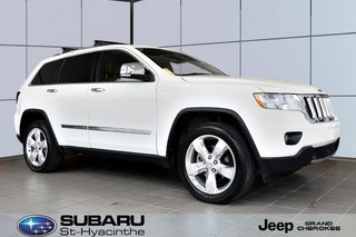 2012 Jeep Grand Cherokee Overland, suspension adaptative, excellente condition