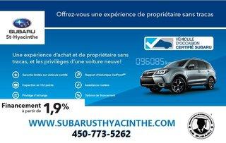 Subaru Crosstrek Sport, toit ouvrant, détecteur d'angles 2018