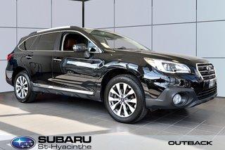 2017 Subaru Outback 3.6R Premier Eyesight, cuir brun, toit ouvrant
