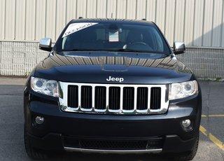 2012 Jeep Grand Cherokee LIMITED, TOIT PANORAMIQUE, SYSTÈME DE NAVIGATION