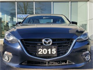 2015  Mazda3 GT|MANUAL|NAV|HEADS UP DISPLAY|HEATED SEATS