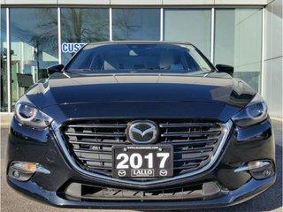 2017 Mazda Mazda3 GT|FULLY LOADED TECH PKG|WHITE LEATHER|NAVIGATION