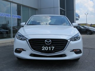 2017  Mazda3 GS|MOONROOF|NAV|HEATED STEERING WHEEL|ONE OWNER