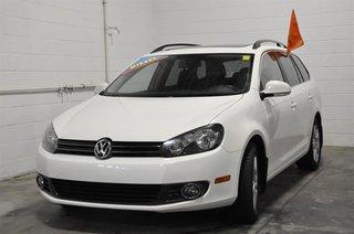 2013 Volkswagen Golf wagon 2.0 TDI Highline DSG at w/ Tip