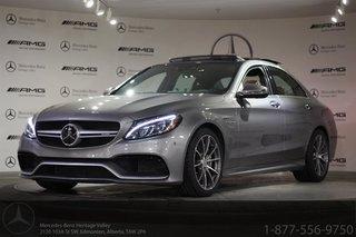 2016 Mercedes-Benz C63 AMG Sedan