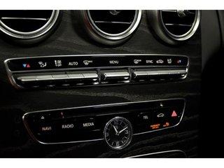 2016 Mercedes-Benz C300 4matic Sedan D.E.L Actifs, Volant Chauffant, Peint