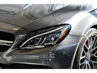 2017 Mercedes-Benz C63 AMG Cabriolet Bas KM, Cuir Nappa, Fibre de Carbone AMG