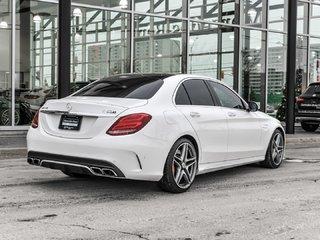 2017 Mercedes-Benz C63 S AMG Premium package, Navigation, AMG performance seats