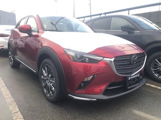 2019 Mazda CX-3 GT AWD with Leather, Bose, Navigation!