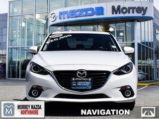2016 Mazda Mazda3 GT  - Certified - Navigation