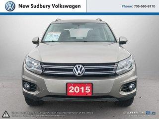 2015 Volkswagen Tiguan Comfortline 4 Motion