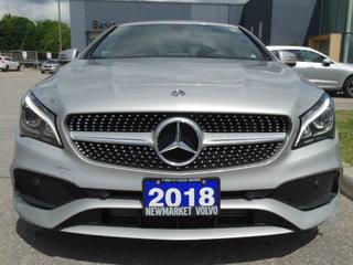 Mercedes-Benz CLA-Class 4MATIC Clean Car 2018