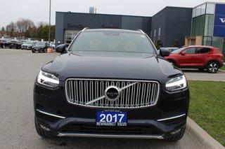 2017 Volvo XC90 T6 Inscription 160KM Warranty Climate Vision Conv