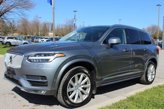 2018 Volvo XC90 T6 Inscription 160KM Warranty Vision Conv Climate