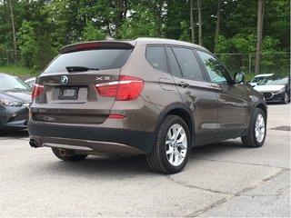 2013 BMW X3-HEATED SEATS-LEATHER-SUNROOF- 28i