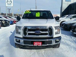 2016 Ford F-150 XLT-3.5L V6-FLEXFUEL-8FT BOX-CRUISE-BLUETOOTH