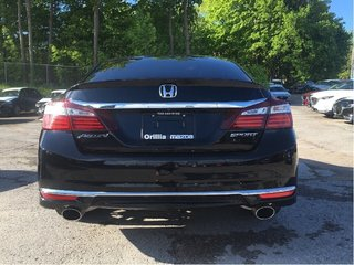 2016 Honda ACCORD-HEATED SEATS-BACK UP CAMERA- Sport