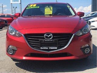 2015  Mazda 3-HEATED SEATS-6-SPEED MANUAL- GS