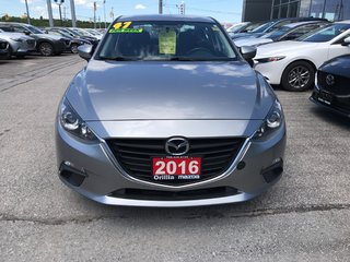 2016  Mazda 3-ONE OWNER-ACCIDENT FREE-
