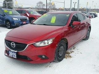 2015 Mazda Mazda6 GSL-SKYACTIV-LEATHER-ROOF-HEATED SEATS