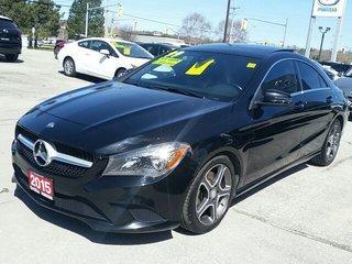 2015 Mercedes-Benz CLA-250 4MATIC-2.0L 4CYL-NAV-ROOF