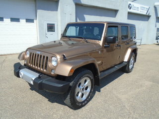 2015 Jeep Wrangler Unlimited Sahara