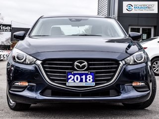 2018  Mazda3 GS NO ACCIDENT BLIND SPOT MONITORING