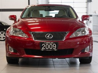 2009 Lexus IS250 Leather & Navigation Package