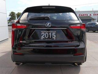 2015 Lexus NX 200t 6A
