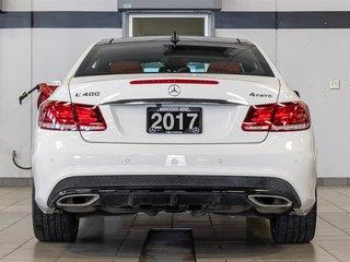 2017 Mercedes-Benz E400 4MATIC Coupe