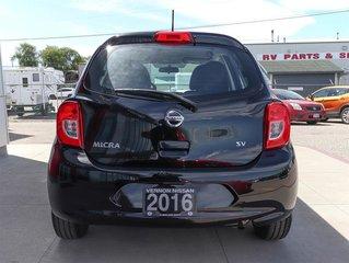 2016 Nissan Micra 1.6 SV 5sp