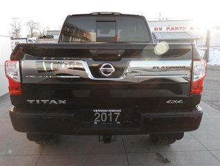 2017 Nissan Titan Crew Cab Platinum 4X4