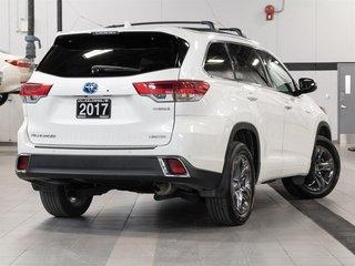 2017 Toyota Highlander hybrid Limited CVT