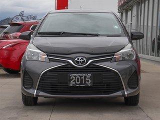 2015 Toyota Yaris 3 Dr CE Hatchback 5M