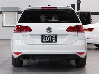 2016 Volkswagen Golf Sportwagon 1.8T Highline 6sp at w/Tip