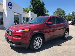 2017 Jeep Cherokee LIMITED, 6 CYL, FWD, LOADED!!