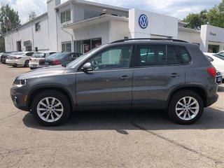2015 Volkswagen Tiguan Comfortline, SUNROOF, HEATED SEATS AWD