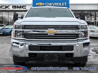 2015 Chevrolet Silverado 3500HD Crew 4x2 WT / SRW  - $224.09 B/W